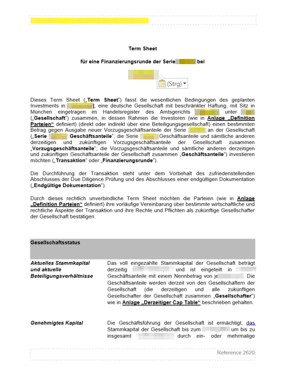 Letter Of Intent Example For The German Freelance 13